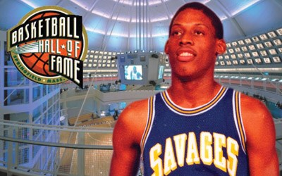 new concept a70bc 79e2a Rodman Selected for Basketball Hall of Fame - Southeastern ...